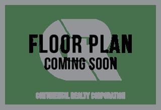 2 Bedroom 2 Bath Floorplan at Cardiff Hall Apartments