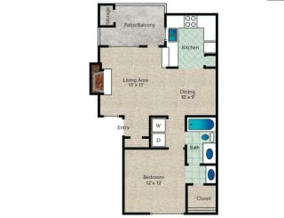 Floor Plan Braxton