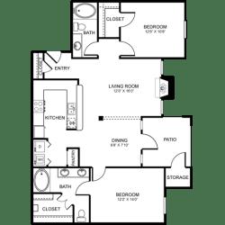 D5 Floor Plan at Stoneleigh on Spring Creek, Texas