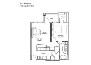Floor Plan A1-Pompey