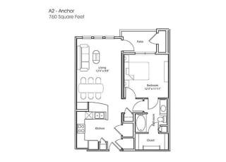 Floor Plan A2-Anchor