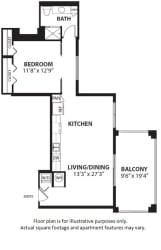 A4 floor plan at Windsor at Doral, Doral, FL