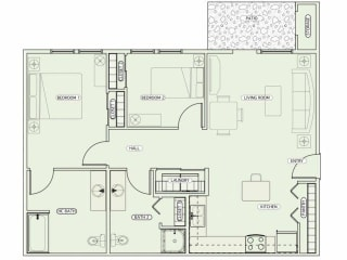 Floor Plan J-AHC