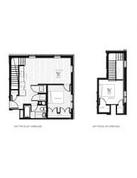 Franklin Lofts and Flats Floor Plan Diagram D2