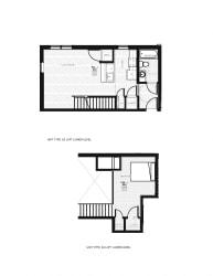 Franklin Lofts and Flats Floor Plan Diagram E3