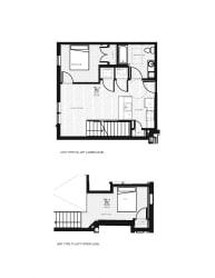 Franklin Lofts and Flats Floor Plan Diagram F3