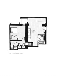 Franklin Lofts and Flats Floor Plan Diagram G2