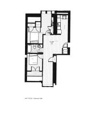 Franklin Lofts and Flats Floor Plan Diagram G4