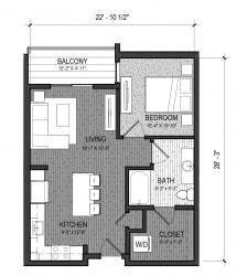 Floor Plan The Cascade 1B
