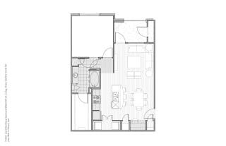 Floor plan at Faudree Ranch, Odessa, TX
