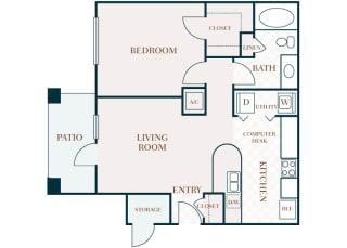 Delayne 2D floor plan A1