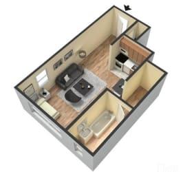 Floor Plan STUDIO LARGE