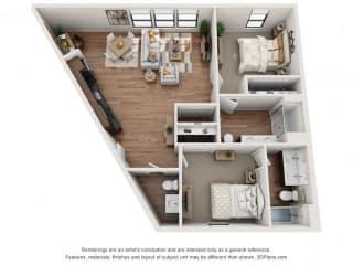 Floor Plan Santa Ana