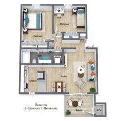 Floor Plan Brighton