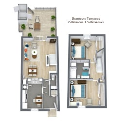 Floor Plan Dartmouth