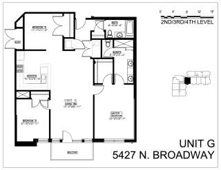 Floor Plan Three Bedroom G