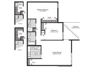 Floor Plan Hawthorne V