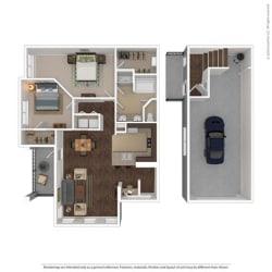 Floor Plan at Orion McCord Park, Texas, 75068