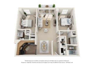 Floor Plan Marseilles - West