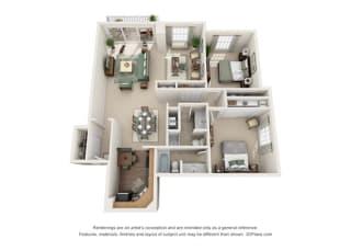 Floor Plan Versailles  - West