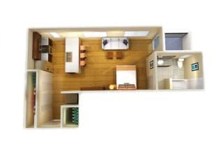 Floor Plan Studio D