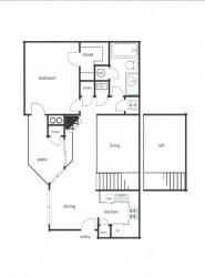 1x1 - Phase I (720-755 sq ft)1