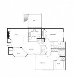 2x2 - Phase I (1075-1145 sq ft)2