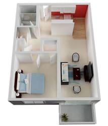 1 bedroom 1 bath at Del Coronado, California, 94501