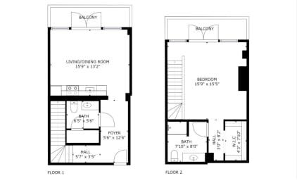 Floor Plan A13D