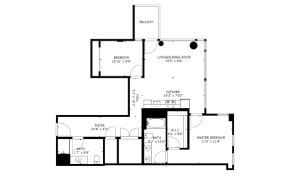 Floor Plan B12B
