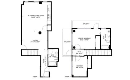 Floor Plan B13B