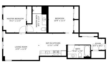 Floor Plan B3B