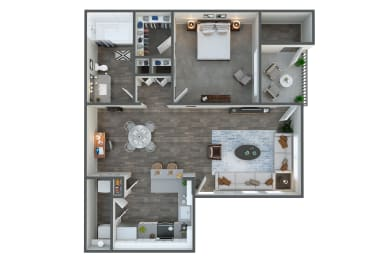 Express one bedroom one bathroom at Tempe Station, Tempe, Arizona