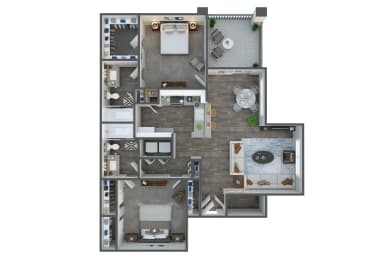 Junction two bedroom two bathroom at Tempe Station, Tempe
