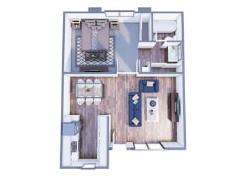 Bethany Floor Plan at The Vicinity, Arizona