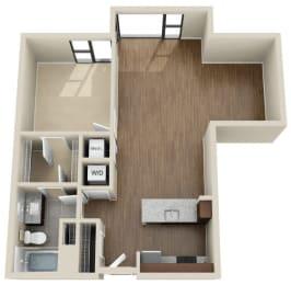 Floor Plan 1T
