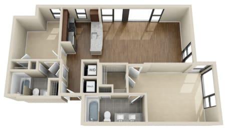 Floor Plan 2K