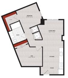 Floor Plan A33Da2