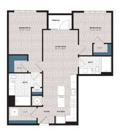 Floor Plan B13A