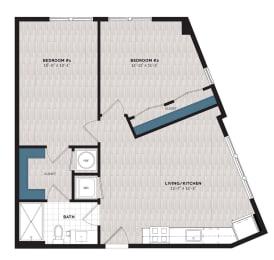 Floor Plan B1-J