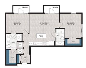 Floor Plan B31