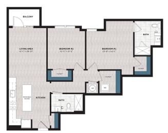 Floor Plan B32-J