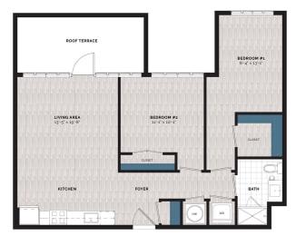 Floor Plan B3-J