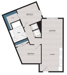 Floor Plan B5-J-A