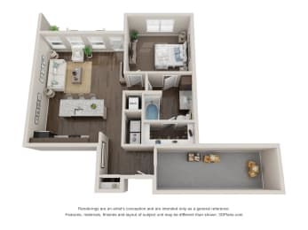 Floor Plan Hickory