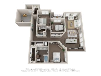 Floor Plan Mulberry
