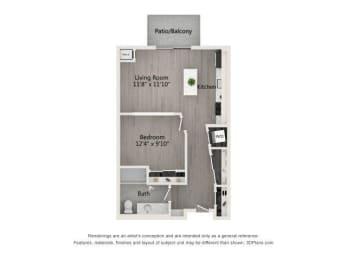 Floor Plan  The Loop (S1)
