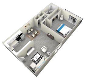 1 Bed 1 Bath apartment at Bella Park Apartments