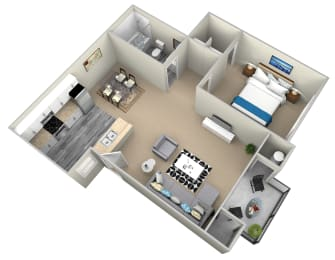 1 Bedroom Apartments in Highland, CA