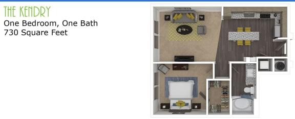 Floor Plan The Kendry